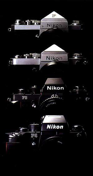 Nikon F - F2 - F3 - F4 Film SLR Camera