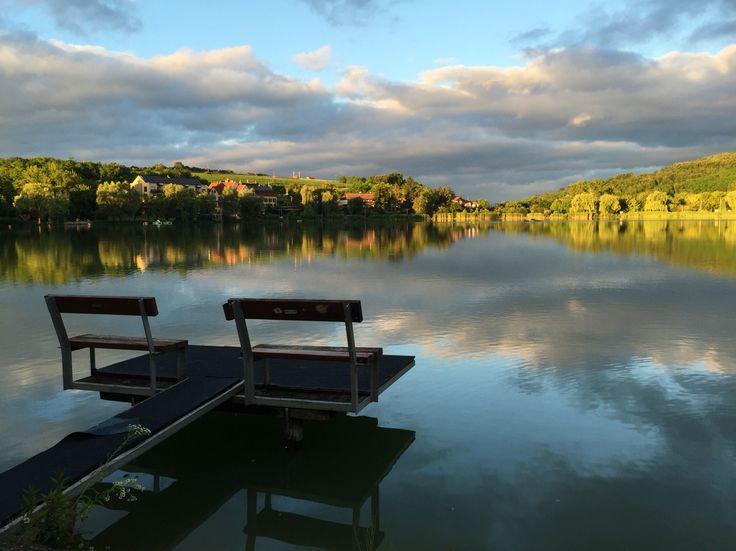 Bánk lake in Hungary