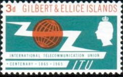 Stamps Gilbert and Ellice Islands 1964 Coconut Palms Fine Mint SG 86 Scott 85 Stamps For Sale Take A Look