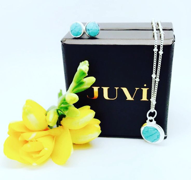 Turquoise and silver jewellery by Juvi design