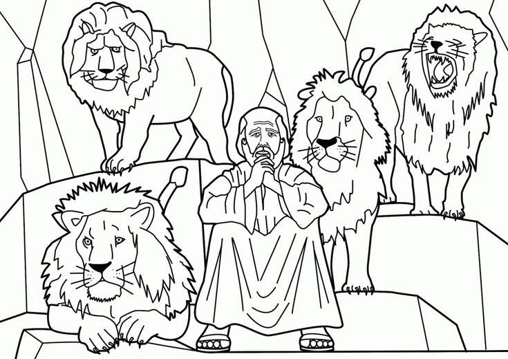 52 best Book of Daniel-Coloring Pages images on Pinterest   Bibel ...