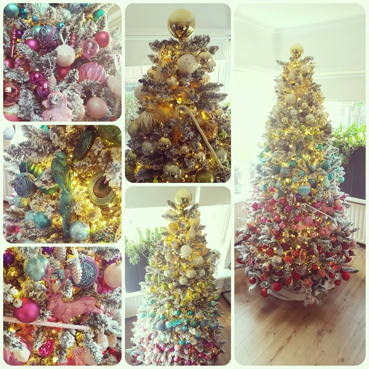 "My ""Be Proud, Be Yourself, Be a Unicorn Rainbow Christmas Tree"""