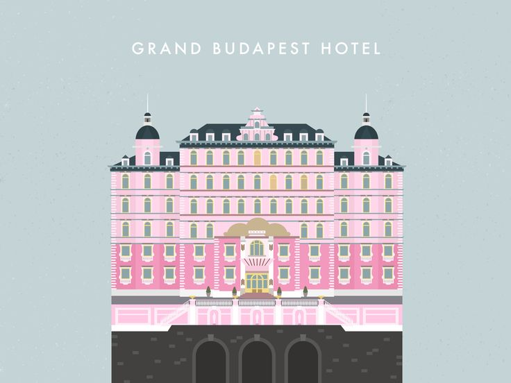 Grand Budapest Hotel Wallpaper: Grand Budapest Hotel // Desktop Wallpaper