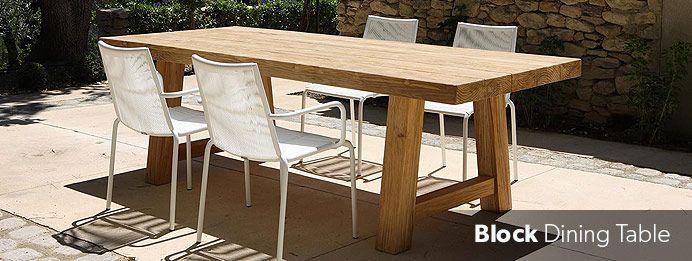 Block Dining Table | Dining Table Range | Nick Scali Furniture