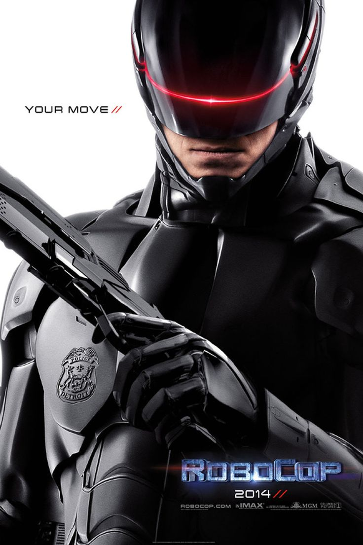 'RoboCop' Reboot Poster Unveiled: 'Your Move' Saw the trailer.. it's more graphic!