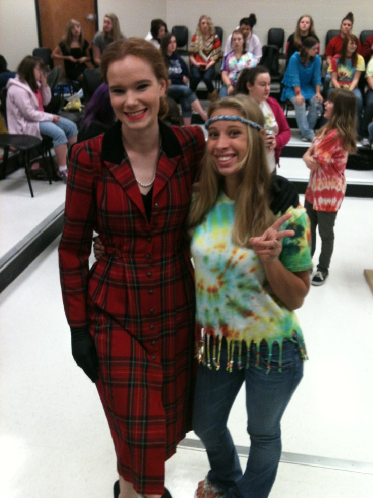 Blast from the past outfits spirit week celebrity