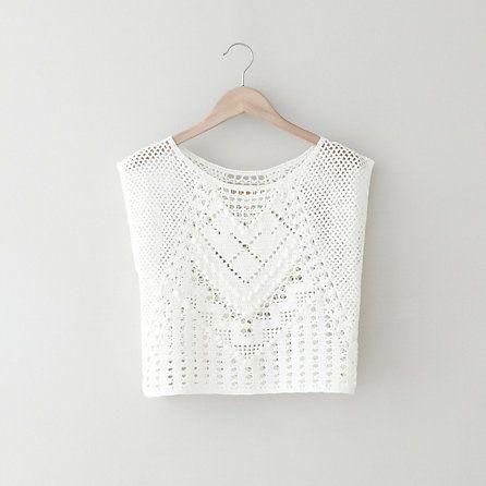 top, crochet - lauren moffatt | steven alan