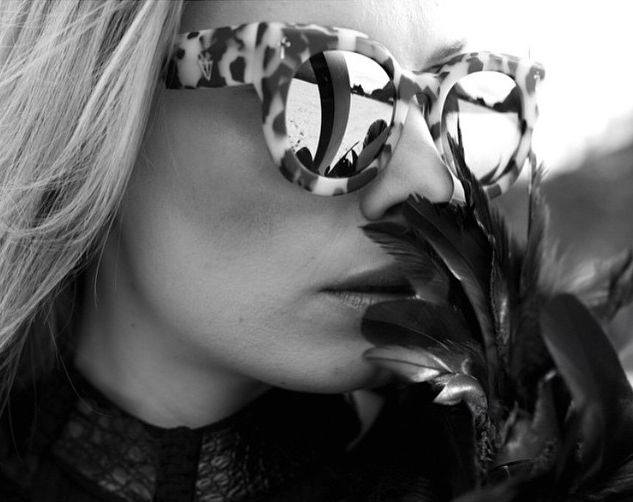 Valley Eyewear - A Dead Coffin Club In Snow Leopard Tort