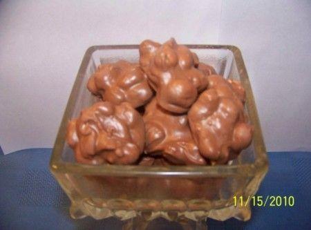 Crock Pot Candy (Mr. Bud Candy) Recipe l Just A Pinch