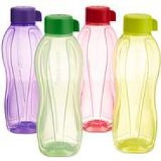 Tupperware Aquasafe Water Bottle Set, 1 Litre, Set of 4, Multicolor for Rs. 488