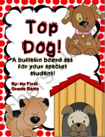 Top Dog! from tjulch from tjulch on TeachersNotebook.com (21 pages)  - A resource for implementing a weekly special student system in your classroom! I have included all forms and bulletin board decorations needed!