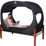 Privacy Pop Bed Tent For Shared Accommodation | InteriorHolic.com