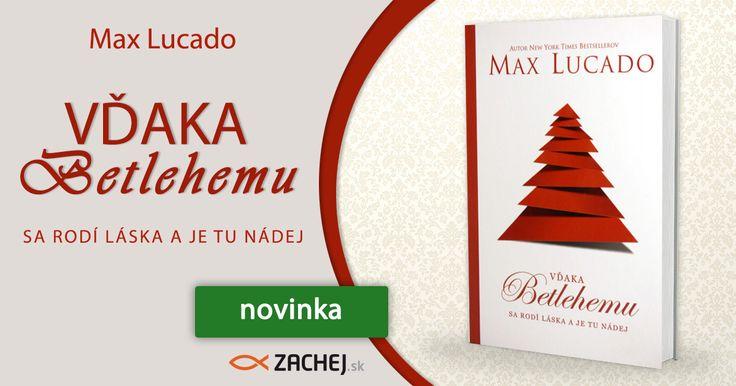 Jupí! Všimli ste si, že už o pár dní sa začína advent? Vianoce sa blížia nezadržateľnou rýchlosťou. Cítite ich vo vzduchu? My teda áno! Dnes vám prinášame ochutnávku vianočných dobrôt v podobe novinky od Maxa Lucada, Vďaka Betlehemu. Do 28.11.2016 si ju navyše môžete objednať so zľavou až 10%. na https://goo.gl/3aPXfE #zachejsk #citamkrestanskeknihy #dnescitam #novinkanasklade