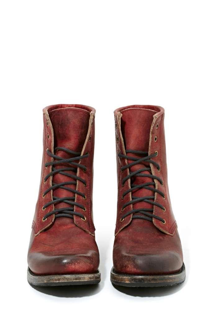 Charlie Boot // bruine korte laarzen