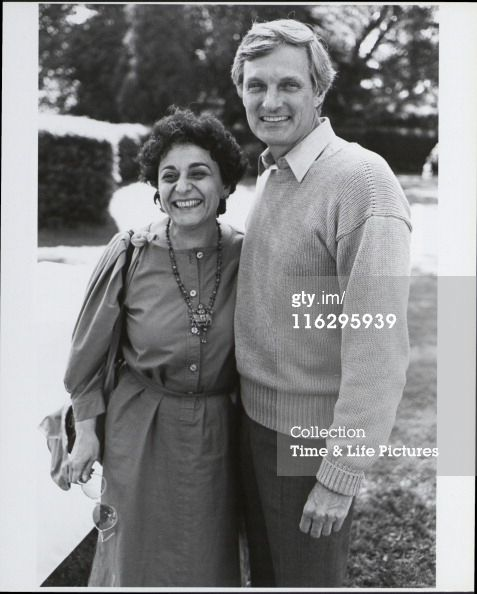 Alan Alda and his wife of over 50 years, Arlene. I love it when people don't get divorced.