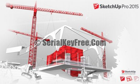 SketchUp Pro 2015 Serial Key Free Download It is full offline installer standalone setup of SketchUp Pro 2015 for WIndows 32 bit 64 bit PC.