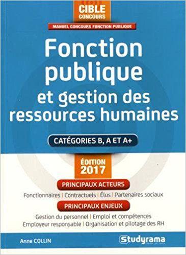 Fonction publique et gestion des ressources humaines - Anne Collin