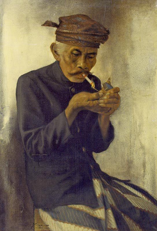 Dullah - Smoking old fellow