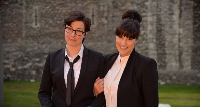 Sue Perkins opens up about 'magical' relationship with Anna Richardson · PinkNews