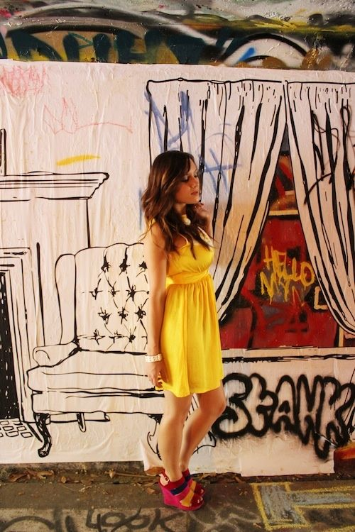 grafitti wall art