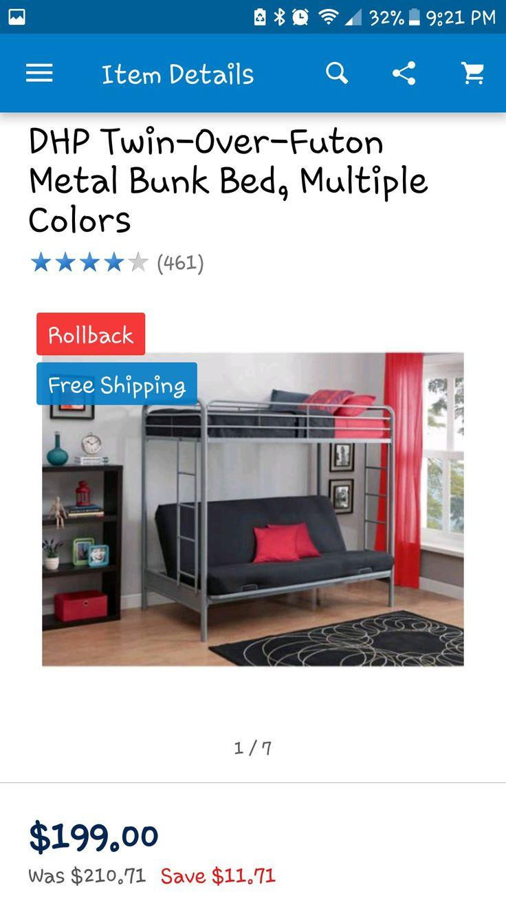 Best 25 Bunk Bed With Futon Ideas On Pinterest Black