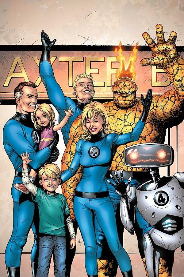 Pin En The Thing Fantastic Four