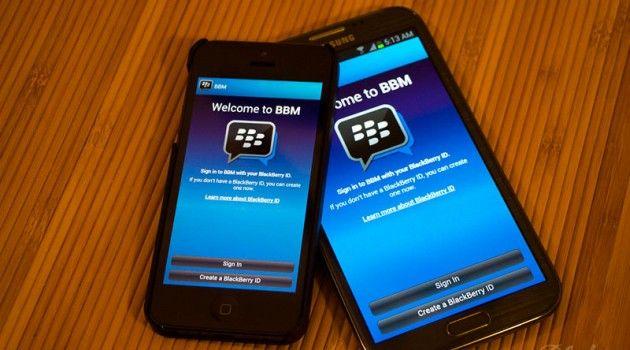 BlackBerry Messenger op eerste dag 10 miljoen keer gedownload