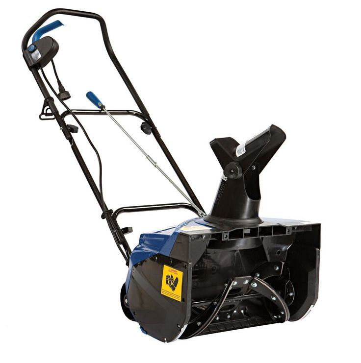 Snow Blower Thrower Electric 15 amp 18 Inch Sweep Large Driveway Winter Storm