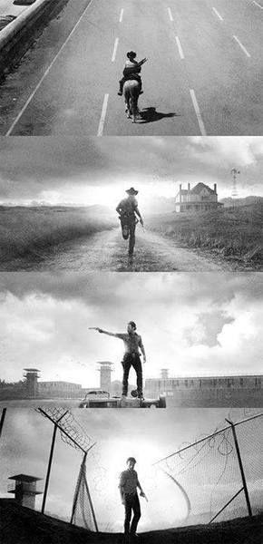The walking dead- Me gusto desde la primera temporada, al principio tenia la serie en mi compu y no la veía y el día que la vi.... que puedo decir, me enamore de la serie :)