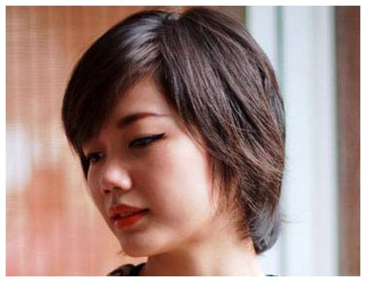 Plus Size Short Hairstyles For Round Faces Images