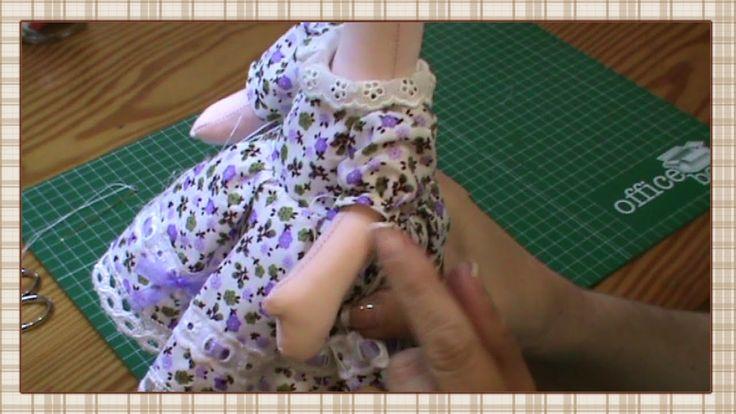 Tutorial: Muñeca completa 5ª parte: Vestido