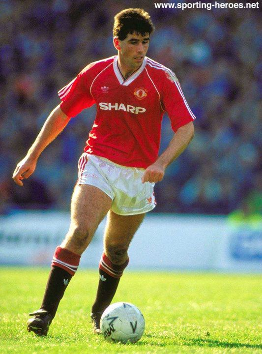 Neil Webb. Neil played (486) senior games and scored (121) goals. Neil started his professional career as a 16 year old with Reading. In 1985 he moved to Notts Forest were Brian Clough paid Portsmouth 250,000 pounds.In 1989 he transfered to Manchester United for 1.5 million pounds. Neil played 26 times foe England and scored 4 goals