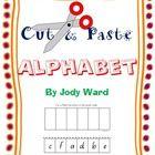 Alphabet worksheets Cut & Paste