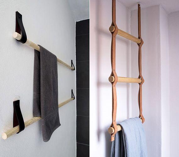 Was man alles aus Leder machen kann! Kleine badezimmer