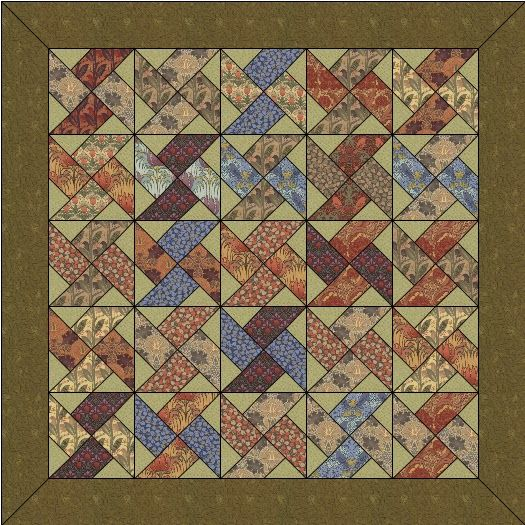 Twin Quilt Patterns Free : Meer dan 1000 afbeeldingen over Quilt William Morris op Pinterest - William morris, Quilt en ...
