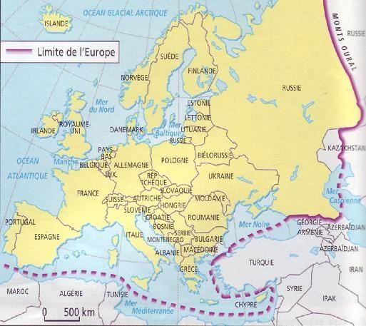 Quelle est la différence entre l'Europe et l'Union Européenne