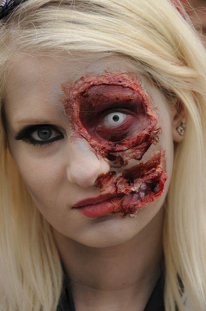 Pin by Pinkatela Molina on ZoMBieS  MaQuiLLaJe Pinterest - zombie halloween ideas