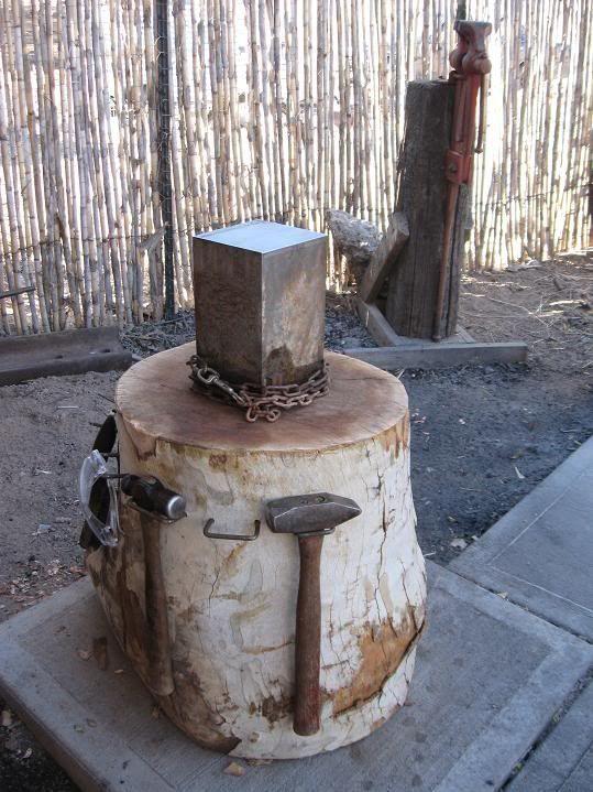 nice stump anvil