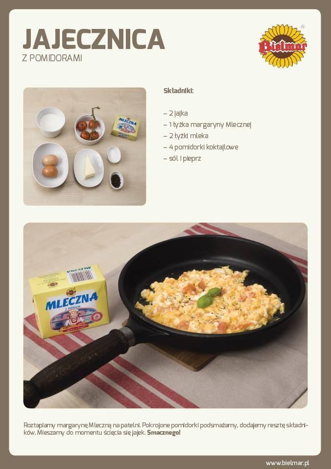Jajecznica z pomidorami   #pomidory #jajecznica #sniadanie #jajka #przepis