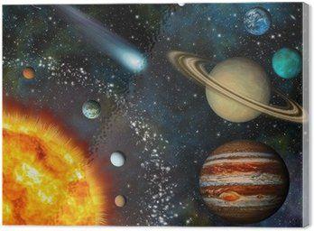 Реалистичные 3D-обои Солнечной системы