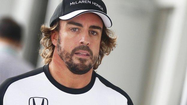 """Fernando Alonso dice que no espera """"nada"""" del nuevo motor de su McLaren-Honda"""