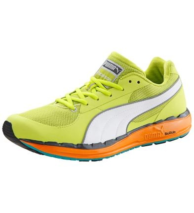 Ganz neu und ab sofort bei Deinem täglichen Training dabei: Der Faas 500 Laufschuh. Macht Dich zum Gewinner!    Besonders abriebfest und langlebig: Außensohle mit EverTrack.  EverRide polstert jeden Schritt. Und macht Deinen Schuh zum Leichtgewicht!   Für lange Strecken: OrthoLite Innensohlen geben Deinem Fuß mehr Komfort.  Luft-durchlässiges AirMesh. Verhindert Blasen und lässt Deinen Fuß atmen.  Mit PUMA Formstrip.