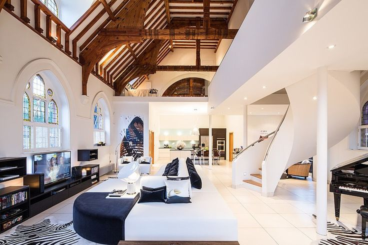 Church Conversion by Gianna Camilotti Interiors