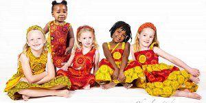 Girls ShweShwe African Print Dresses & clothing . Handmade in South Africa. www.jennidezigns.clothing #ShweShwe #GirlsPrintDresses #GirlsAfricanPrint #KidsFashion