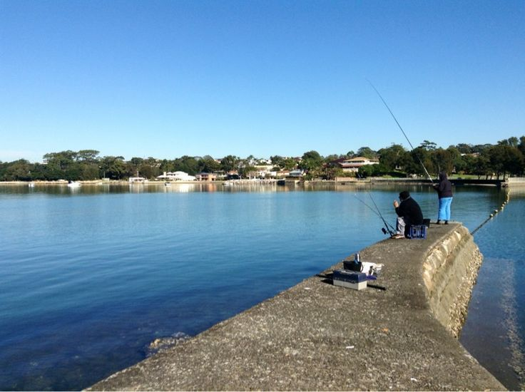 Locals fishing in Carss Park. #fishing #carsspark #mcgrathstgeorge