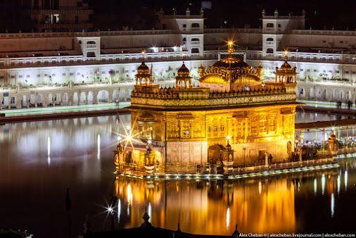 Амритсар. Индия. Золотой храм Сикхов.