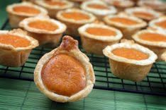 Pumpkin Pies - Oh yummy!