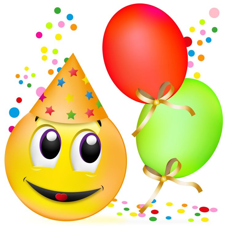48 best emojis happy birthday images on Pinterest | Happy ...
