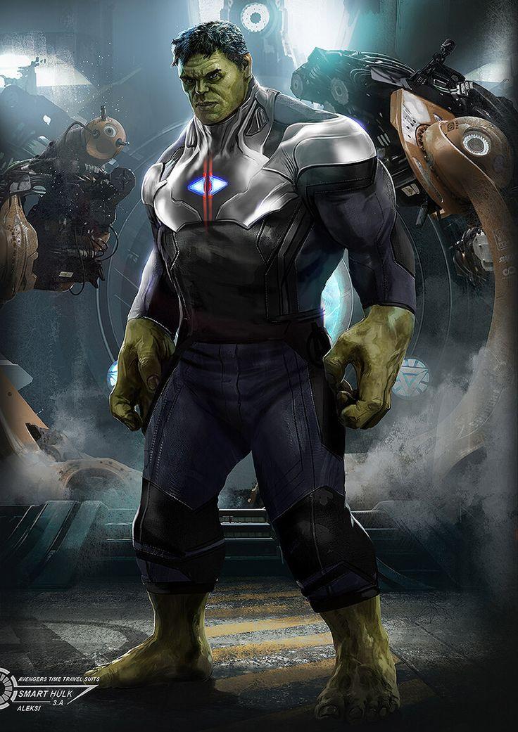 ArtStation Avengers Endgame / Hulk with Tilme Travel