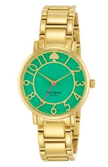 This Kate Spade mint watch brings spring to every outfit.